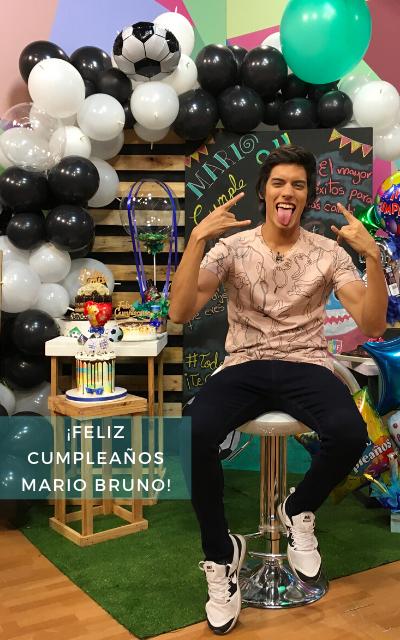 ¡FELIZ CUMPLEAÑOS MARIO BRUNO!