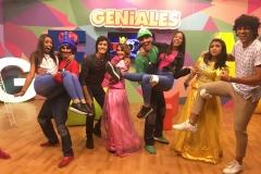 GENIALES 2.0. Miércoles 17 de Julio (Obra de teatro Mario Bros)